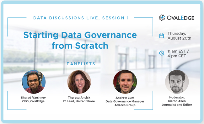 Starting Data Governance from Scratch