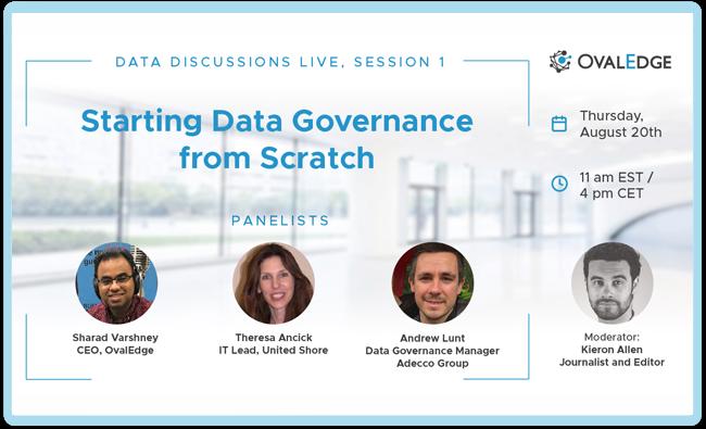 Starting Data Governance from Scratch